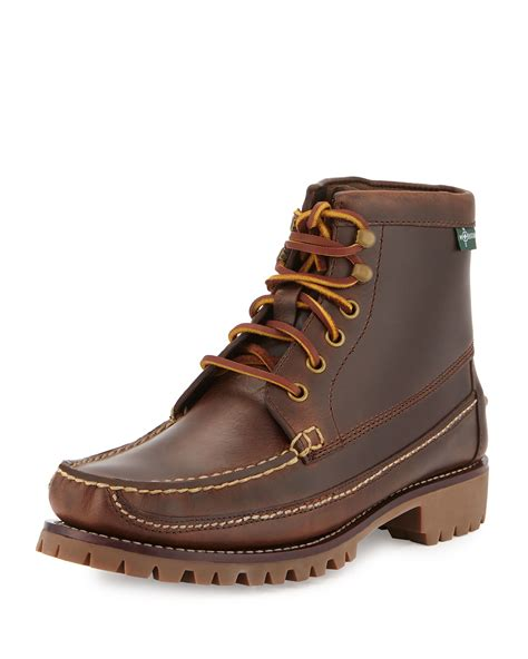 eastland s boots eastland 1955 edition franconia 1955 ankle boot in brown
