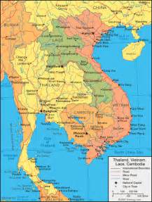 Thailand Map World by Thailand Map And Satellite Image