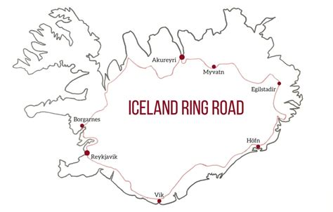 printable road map of iceland iceland ring road guide planning tips best stops