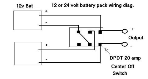 12 volt battery wiring diagram switch to accessory 12