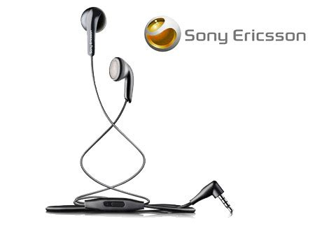 Headset Sony Mh410 genuine sony ericsson black mh410 wired stereo headset ebay