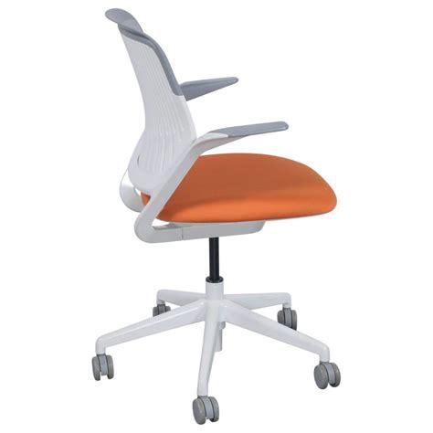 steelcase cobi chair dimensions steelcase cobi used light gray mesh task chair orange