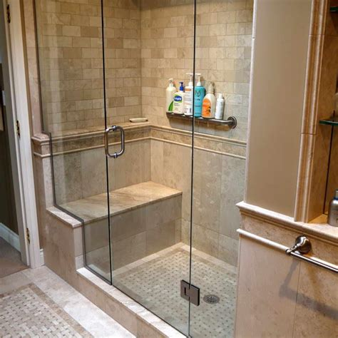 shower stall with bench 23 stunning tile shower designs