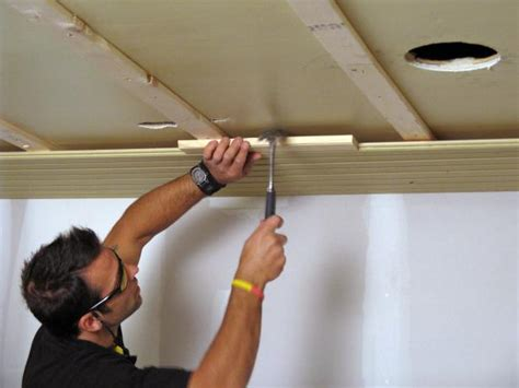 Plank Ceiling Diy by How To Install A Tongue And Groove Plank Ceiling How Tos