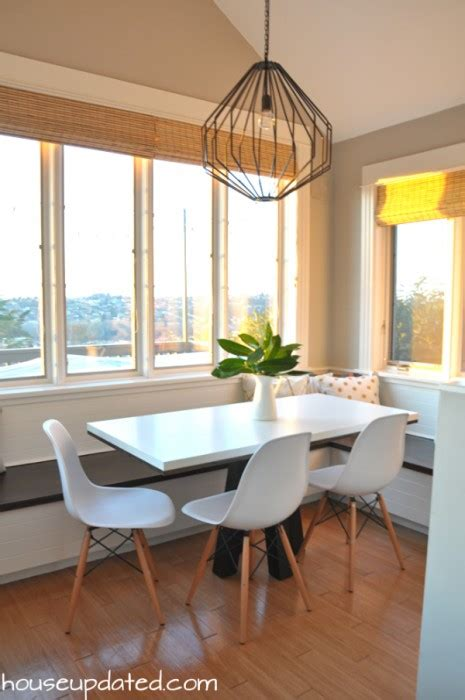 breakfast nook lighting eating area archives house updated