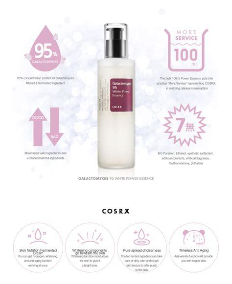 Cosrx Sle Galactomyces 95 Whitening Power Essence cosrx galactomyces 95 white power essence 100ml ebay