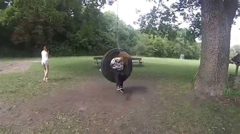 tire swing song gopro spinning people in a tire swing d youtube