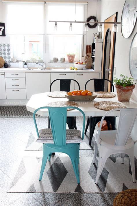 Blauer Und Weißer Speisesaal by Bettkopcteil Mit Stoff Selber Machen