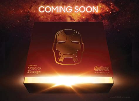 s6 edge iron man themes download samsung teases galaxy s6 edge iron man edition gsmarena