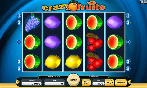 crazy fruits automaty hry zdarma  kajot
