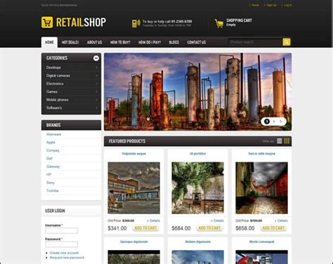 free wordpress themes retail store 60 excellent drupal free and premium themes