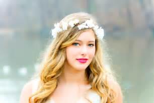 flower hair flower hair bridal flower crown wedding headpiece hair