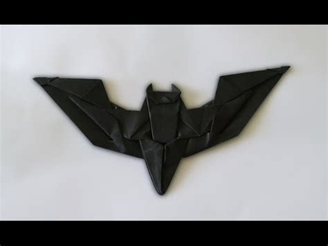 How To Make A Paper Batman - origami batman batarang shafer