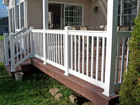 Pvc Porch Railing Systems pvc porch railing systems