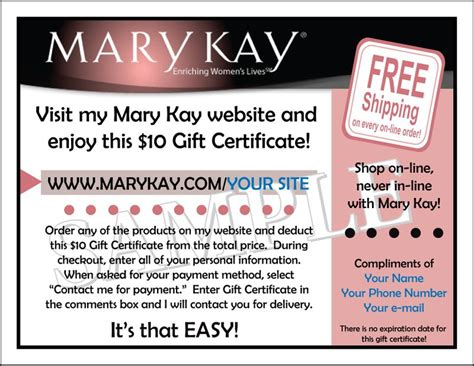 Mary Kay Gift Card - search results for mary kay gift certificate calendar 2015