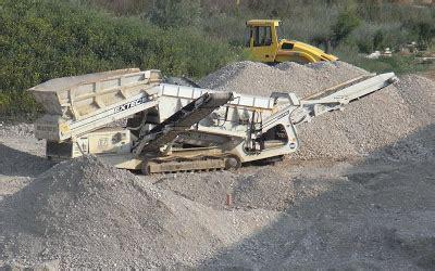 ghiaia vagliata nel finto recupero ambientale dell ex cava siberie 232