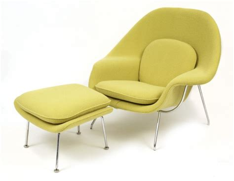 Iconic Armchairs Iconic Eero Saarinen Knoll Womb Chair Red Modern Furniture