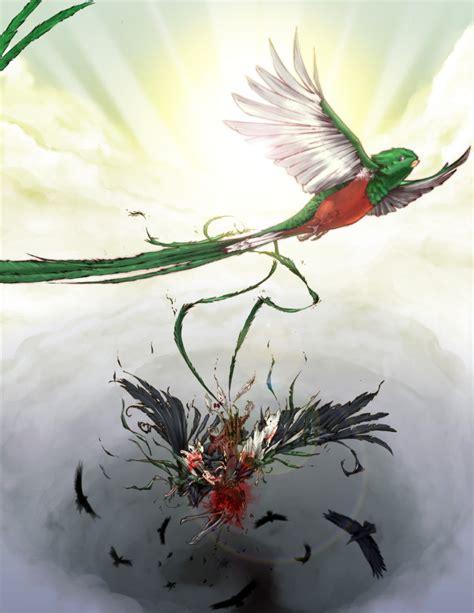 imagenes de quetzal a lapiz la metamorfosis del quetzal by reggalado on deviantart