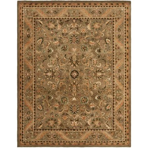 12 X 15 Area Rug Safavieh Antiquity Olive Gold 12 Ft X 15 Ft Area Rug At52a 1215 The Home Depot