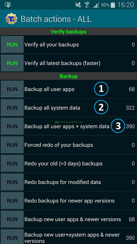 android backup and restore guide how to backup restore android apps data root required howto highonandroid