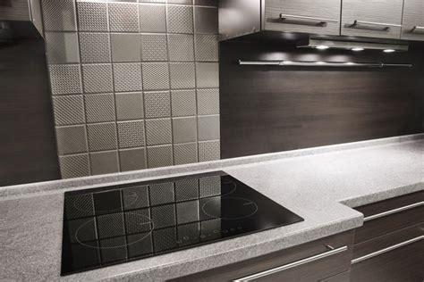 Metal Backsplash Tiles For Kitchens by