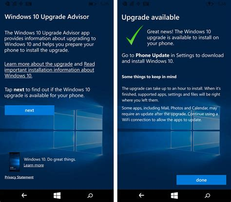 how to upgrade to windows how to upgrade from windows phone 8 1 to windows 10 mobile