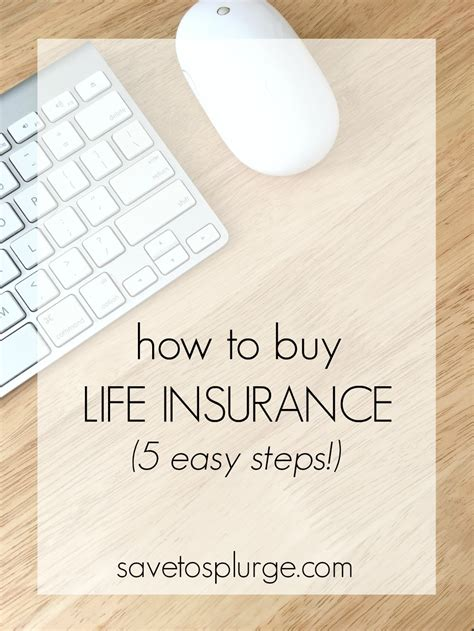 5 Steps To Buy by How To Buy Insurance 5 Easy Steps