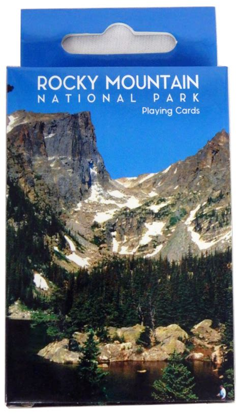 rocky mountain national park playing cards