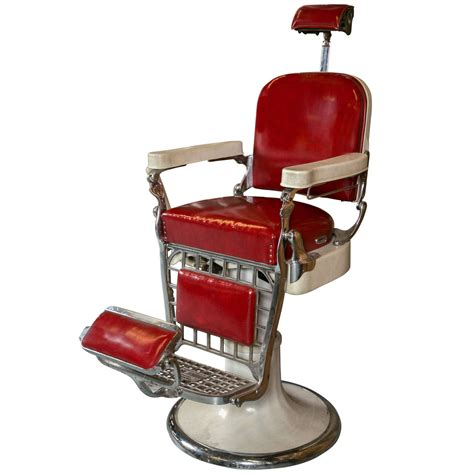 Vintage Home Decor red vintage barber chair style of vintage barber chair