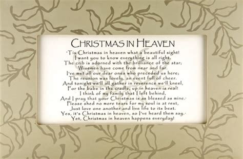 printable christmas in heaven poem quotes for loved ones in heaven at christmas quotes