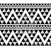 Tribal Aztec Abstract Seamless Pattern Royalty Free Stock