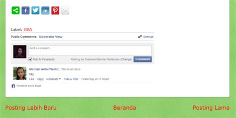 membuat blog facebook cara membuat komentar facebook di blog the zhemwel
