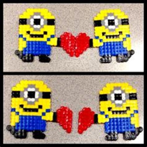 minion melty 1000 images about embroidery on perler bead