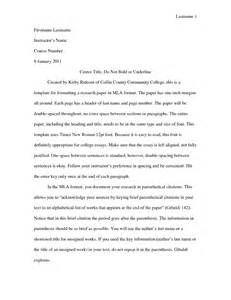 Writing A Paper For College University Research Paper Outline Example