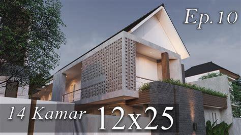 desain rumah kost kekinian youtube