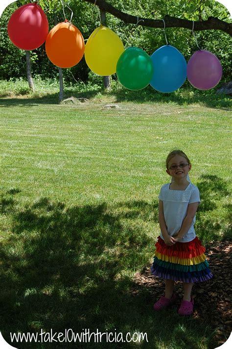 Backyard Balloon Decorating Ideas For Outdoor Birthday