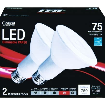 Lu Led Ace Hardware feit electric led light bulb 12 watts 750 lumens reflector