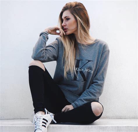 cristina musacchio calvin klein sweatshirt primark