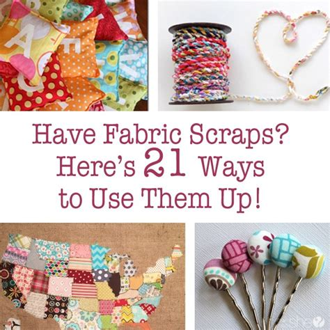 fabric crafts for fabric scraps and ways to use them fabric scrap projects