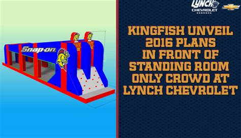 standing room only kenosha kingfish unveil 2016 plans in front of standing room only crowd kenosha kingfish kenosha