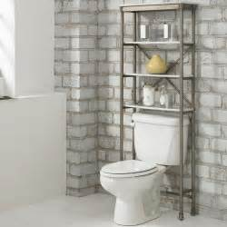 toilet bathroom shelves home styles orleans bathroom space saver 5760 106