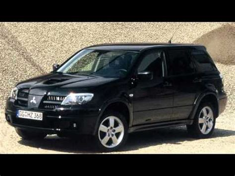 outlander mitsubishi 2006 mitsubishi outlander 2006 turbo youtube