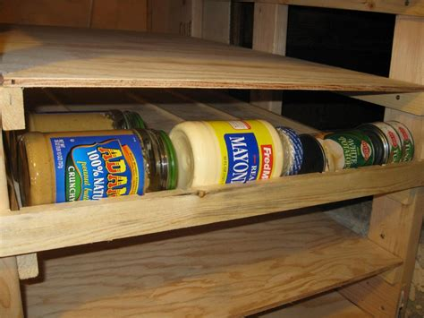Can Rotation Shelf by How To Make Can Rotator Shelves 101 Ways To Survive