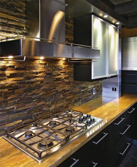 stone kitchen backsplash ideas 25 fantastic kitchen backsplash ideas for a modern home