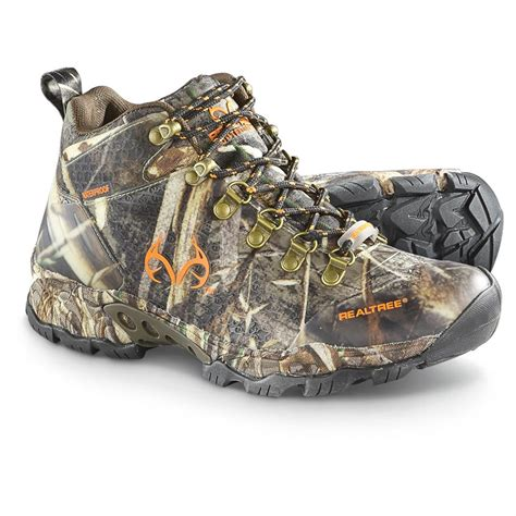 outfitters mens boots realtree outfitters s yukon waterproof mid hiking