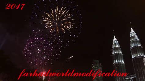 new year 2017 in malaysia 2017 kuala lumpur new year celebration fireworks