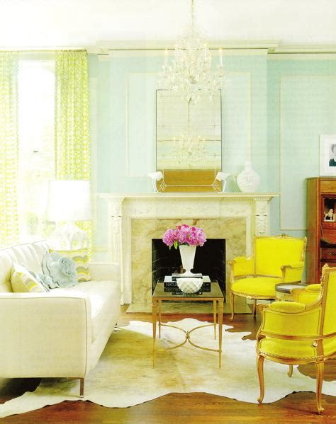 Yellow Chairs Living Room Yellow Accent Chairs Transitional Living Room Amie Corley Interiors