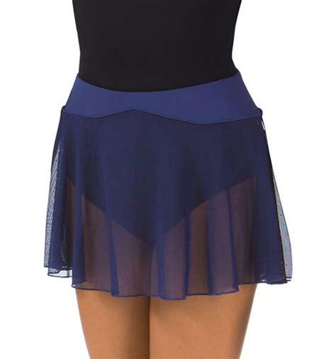 Dotted Mini Skirt womens dotted mesh ballet skirt mini skirt