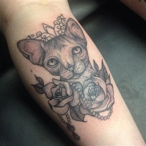 cat tattoo artist sphinx cat tattoo by medusa lou tattoo artist medusaloux