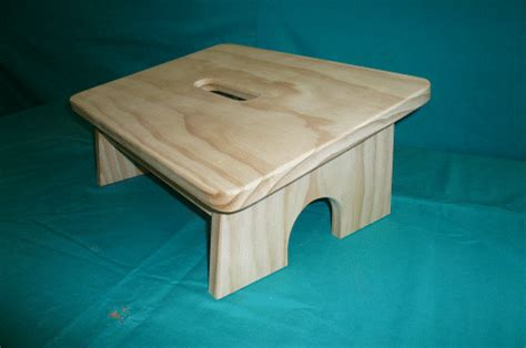 woodwork wooden foot stool pdf plans